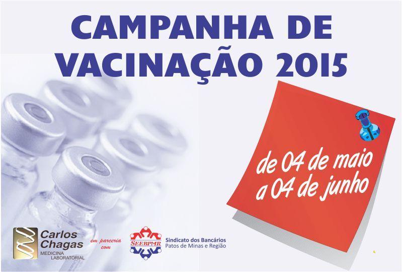 CAMPANHA DE VACINAÇÃO 2015