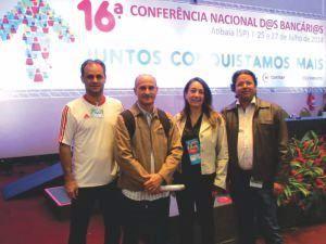 Diretores na 16ª Conferência Nacional dos Bancários