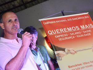 Ivan Gomes, presidente do Sindicato, lança Campanha Nacional na base