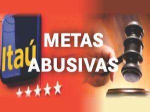 Metas abusivas no Itaú