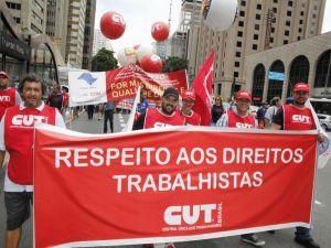 Mobilizações no Dia Nacional de Lutas por Emprego e Direitos